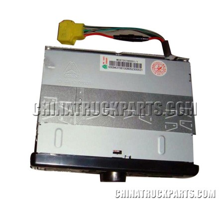 Sinotruk Howo Truck Parts  Cab Parts MP3 Radio WG9725780001 for Sale