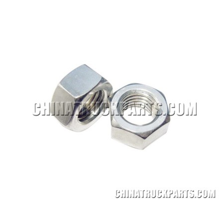 Sinotruk Howo Truck Cab Parts  Type I Hex Nuts Q340B08-1 for Sale